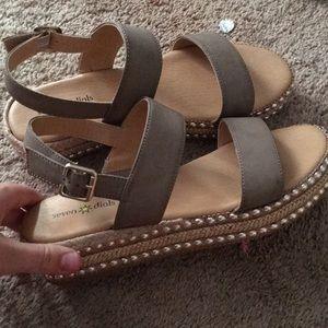 Cute Sandals never worn brand new